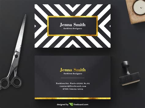 fashion design business cards templates free 20 professional business card design templates for free