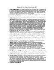 Foner Chapter 16 Outline by Hist Chap 16 Notes 1 Hist 021 Book Notes Chapter 16 Give Me Liberty An American History By
