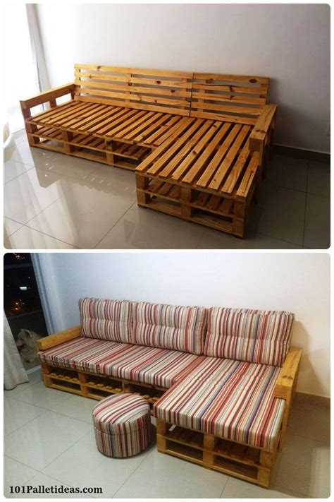 pallet l shaped couch 20 pallet ideas you can diy for your home 99 pallets