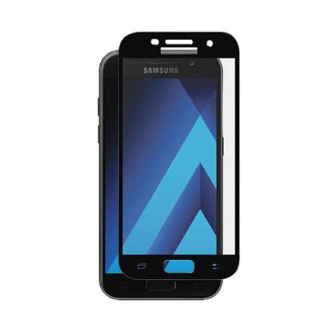 Tempered Glass Transparan Samsung Galaxy A5 2017 Screen Protector axessorize curved tempered glass screen protector samsung galaxy a5 2017 samsung galaxy a5