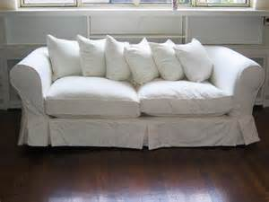 Bench Slipcover White Loveseat Slipcover Home Furniture Design