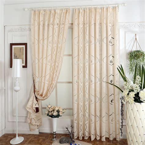 warehouse ready made curtains free shipping jacquard 3d geometric pattern decorative
