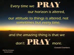 every time we pray the christian conservative