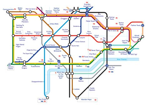 london tube map 2014 printable this honest tube map tells it like it is now here this