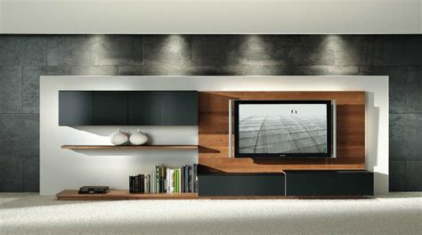 entertainment unit design wooden furniture in a contemporary setting