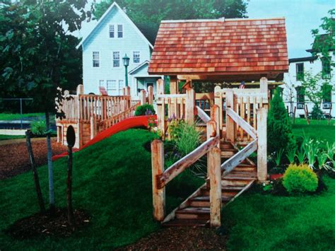 Backyard Playscapes by In The Mist Build A Playscape In Your Own Yard