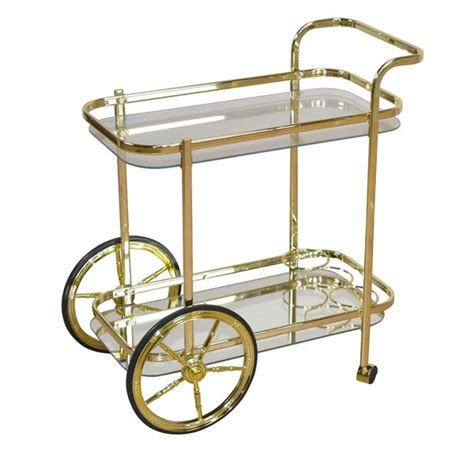serving carts drinks trolleys youll love wayfaircouk