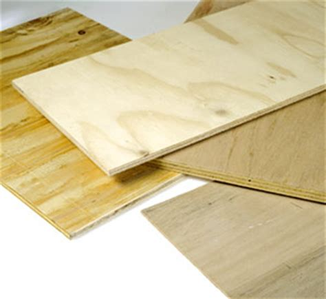 Types and Grades of Plywood, Particleboard, Fiberboard