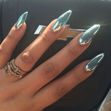 chrome nails 7671 best nail designs images on pinterest coffin nails