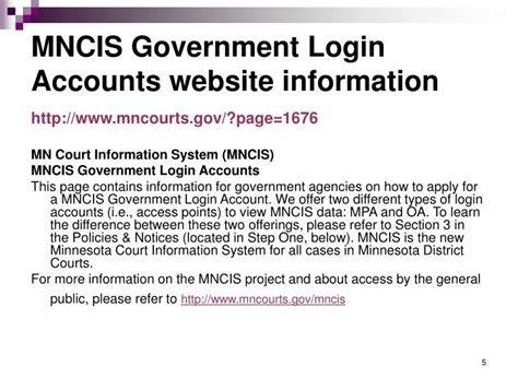 Mncis Records Ppt Mncis Government Login Access Accounts Odyssey Assistant Oa Minnesota