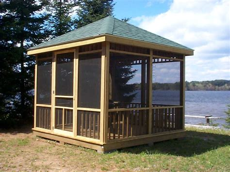 create  comfortable gazebo  home home garden