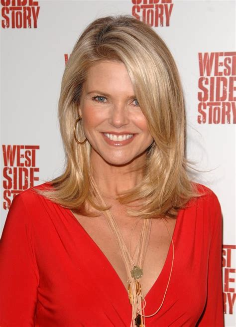 professional youthful hairstyles for a 50 year old woman 25 best ideas about christie brinkley on pinterest