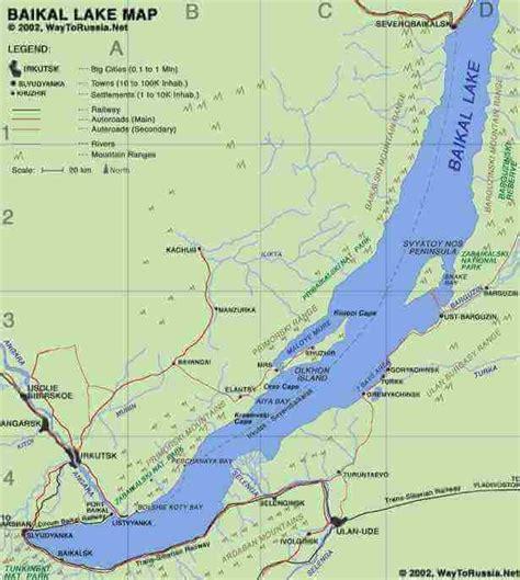 irkutsk map lake baikal еverything about lake baikal in one place