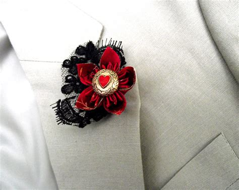 Custom Origami - custom origami wedding buttonholes madame b s boutique