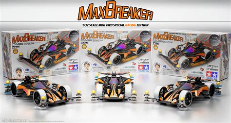 mini 4wd max breaker edition francesco bruschi 3d