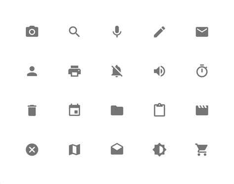 material design icon names a look into google s material design explained