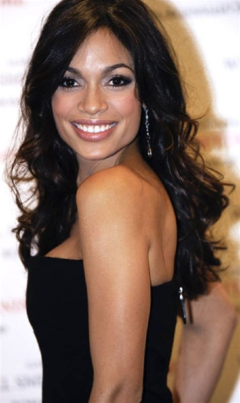 actress rosario dawson rosario dawson beautiful long hair hot actress photo gallery