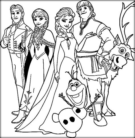 Coloring Pages Frozen Colouring Pages 34 M Coloring Printable Coloring Pages For Frozen Free