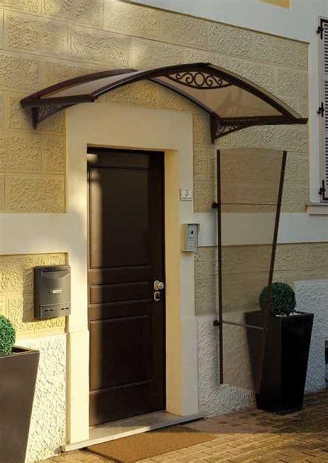 tettoia per porta ingresso pensilina per ingressi