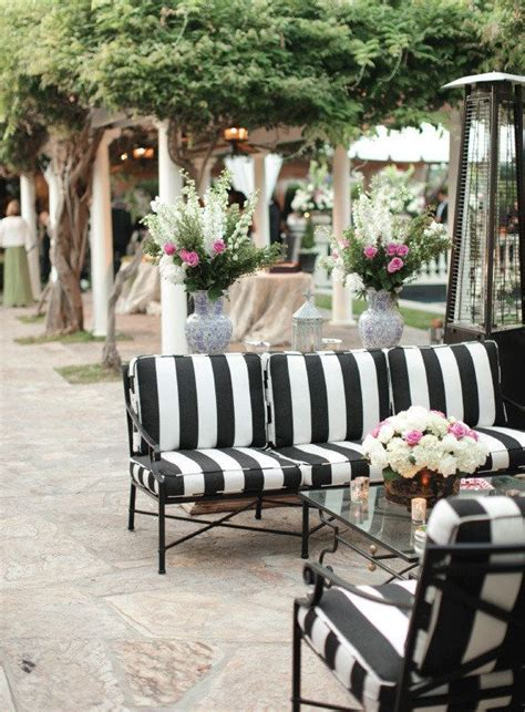 black and white striped patio cushions best 25 black