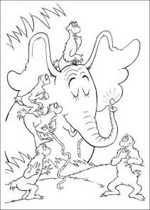 dr suess coloring pages coloring pages horton dr seuss coloring pages