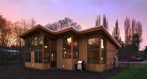 fabcab modern cabin on whidbey island washington perfect small 231 best images about not trailer trash on pinterest
