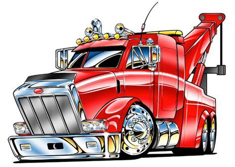 Transformer Wall Stickers kenworth tow trucks clipart