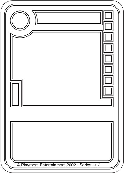 tcg template pics for gt blank card template