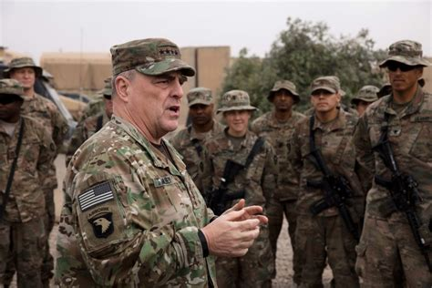 U S Army army chief future of us troops in iraq tbd as crumbles