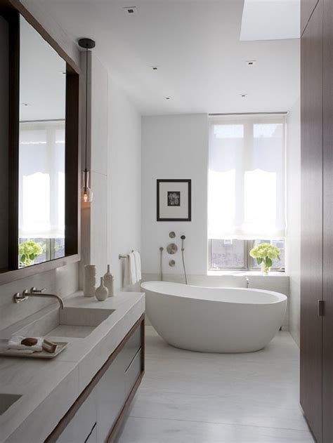 minimalist white bathroom designs to fall in