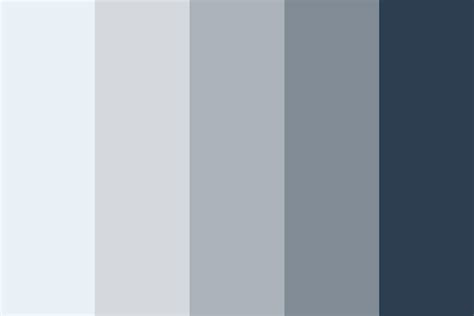color schemes with grey blues in the grey color palette