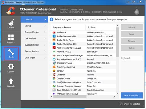 ccleaner uses how to find and remove duplicate files in computer