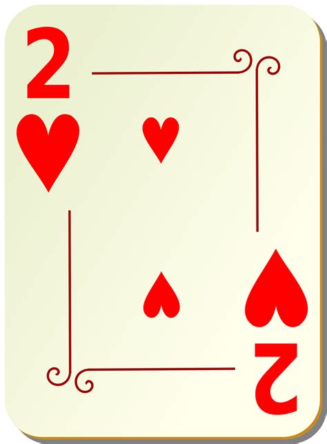 playing card heart clipart 41