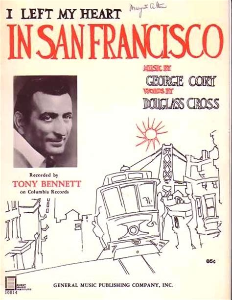 I Left My In by Bamboo Trading I Left My In San Francisco 1954