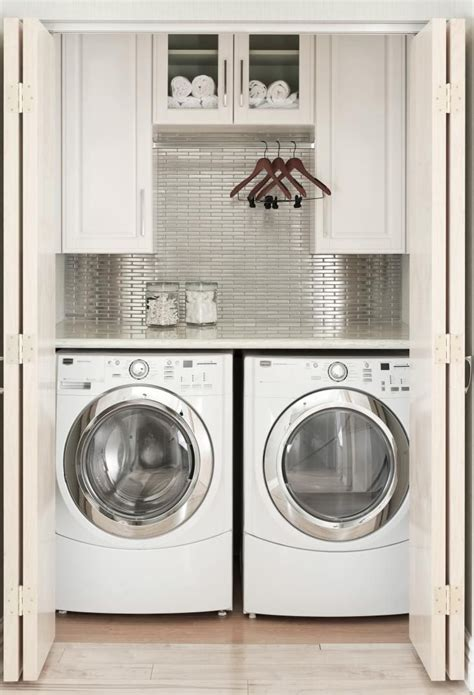 concealed washer and dryer 15 laundry spaces that cleverly conceal their unpleasant