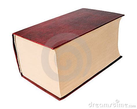 Thick Book. Stock Photo   Image: 12783150