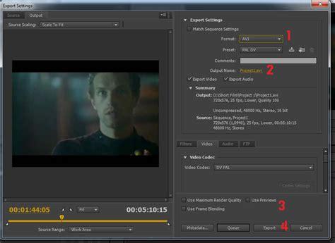 adobe premiere pro use maximum render quality teknik dasar dalam video editing adobe premiere pro
