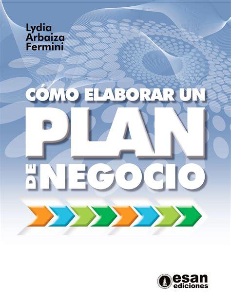 libro lenadoras un plan terrible c 243 mo elaborar un plan de negocio publicaciones esan
