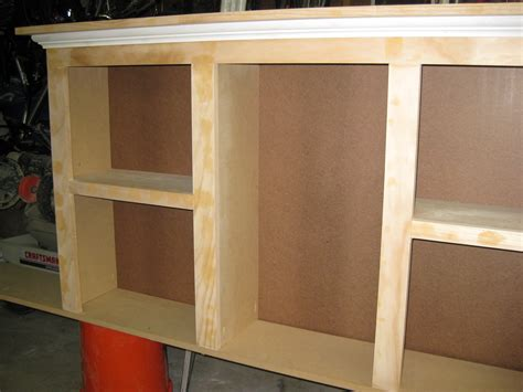 build an inexpensive 2 bookshelf headboard