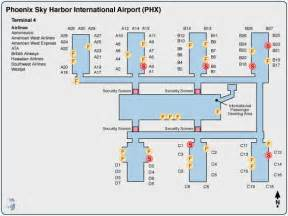 Phoenix Terminal Map by Similiar Us Airways Phoenix Terminal Map Keywords