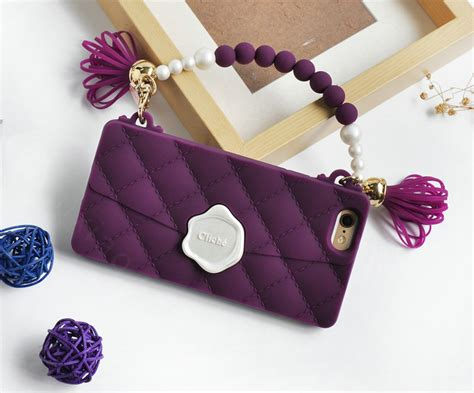 For Iphone 7 Plus Soft Fashion Glasses Tassel Korean Casin buy wholesale candies silicone cover for iphone 7 plus fashion handbag tassels pearl chain soft