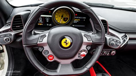 ferrari steering wheel ferrari 458 spider review autoevolution