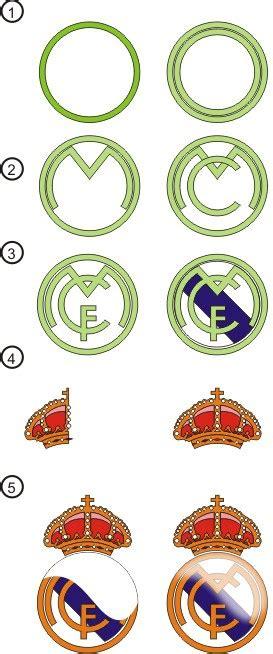 tutorial logo real madrid draw real madrid cf logo with corel draw tutorial corel