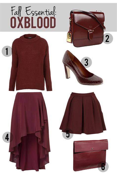 what color is oxblood oxblood the color of the season style edition