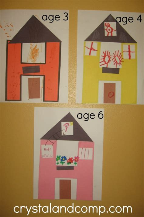 house pattern preschool h is for house a letter of the week preschool craft