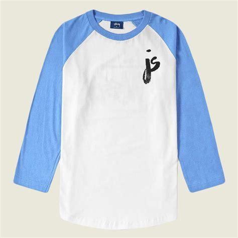 Raglan World Cup Logo 04 Ordinal Apparel js logo white lake blue raglan jacb merchnow your favorite band merch and