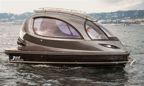 jet boat yacht jet capsule mini yacht cool material