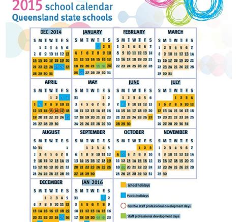 Printable Queensland Calendar 2015 | qld public holidays 2016 calendar template 2016