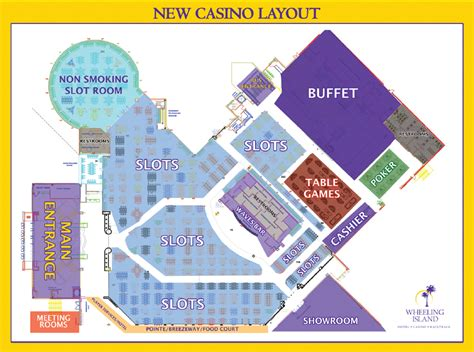 foxwoods casino floor plan three rivers poker new wheeling island casino layout