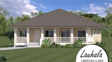 hawaii home designs plantation style house plans hawaii youtube